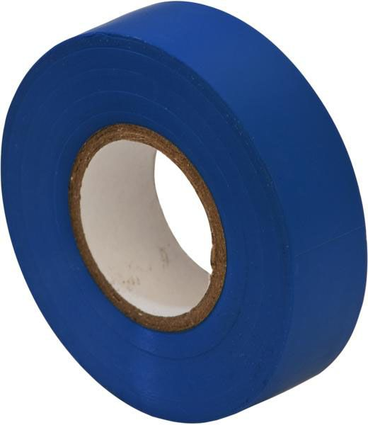 Pk 10 PVC Insulation Tape 19mm x 20m Assorted Colours