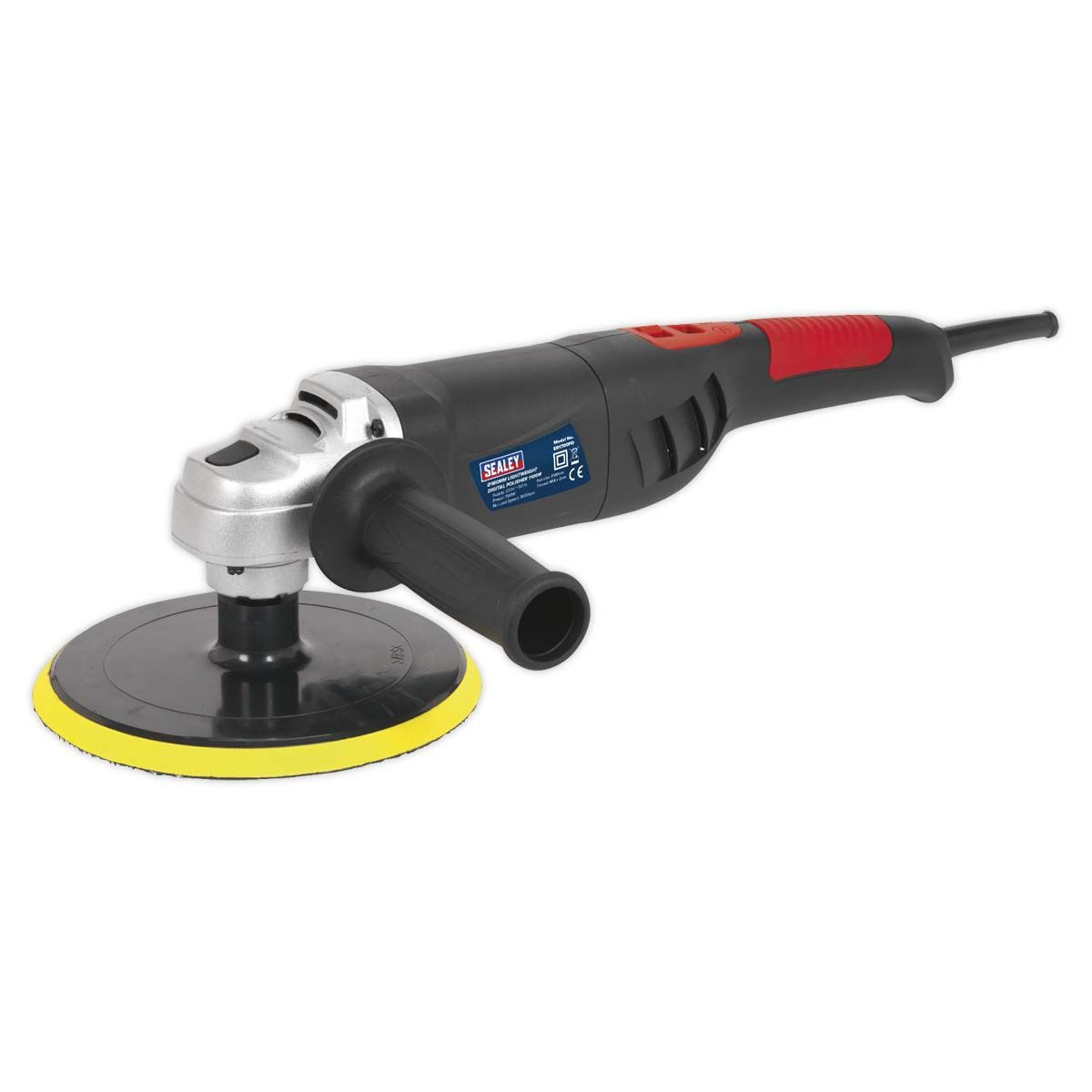 Sealey Polisher Digital Ø180mm 1100W/230V Lightweight