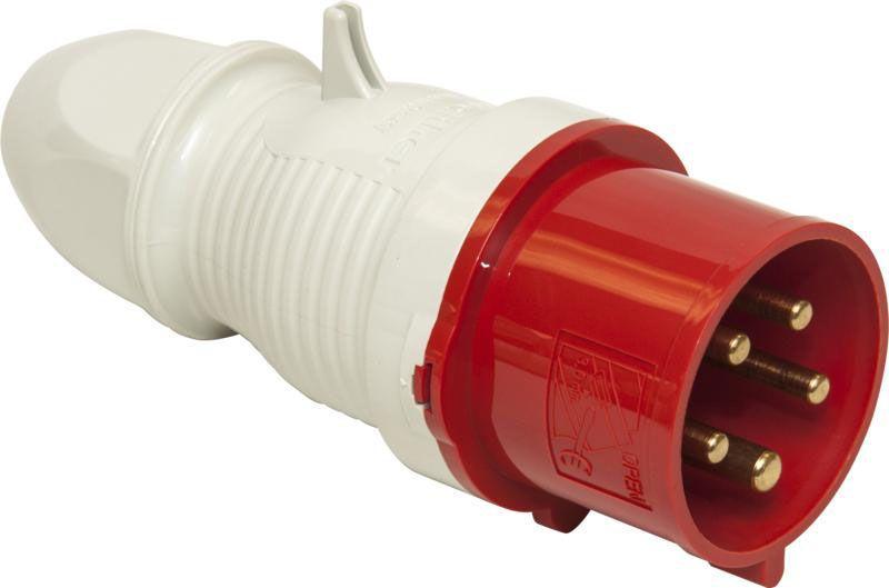 Three Phase 415V Red Plugs