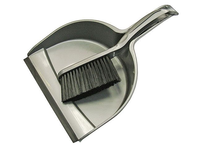 Faithfull Dustpan & Brush Set Plastic