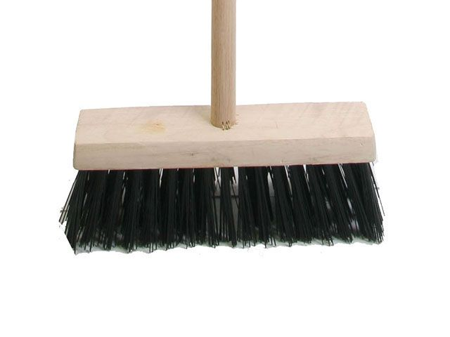 Faithfull Broom PVC 325mm (13 in) Head complete with Handle