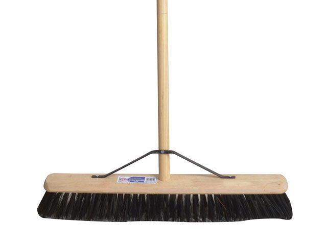 Faithfull Broom PVC 600mm 24in & 54in Handle