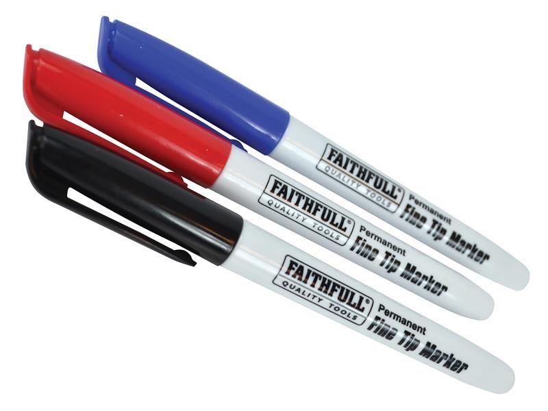 Faithfull Fibre Tip Marker Pen