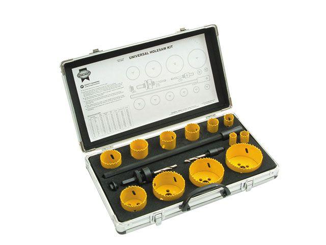 Faithfull Holesaw Kit Set of 16 Universal 16-76mm