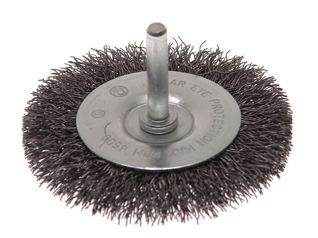 Faithfull Wire Brushes with 6mm Shank