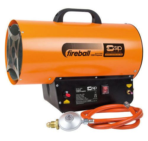 SIP Fireball 1030 Propane Heater 102,364 Btu 230V