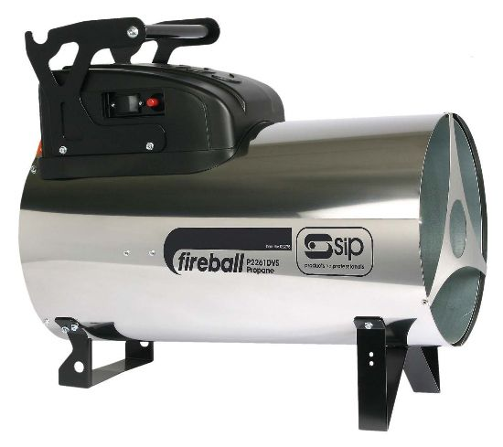 SIP Fireball 2261DV 226,000 Btu Propane Space Heater Dual Voltage