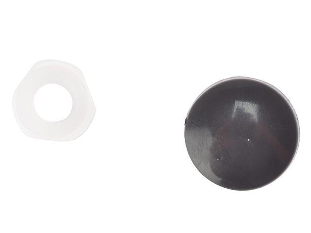 Forgefix Plastic Domed Screw Cover Caps