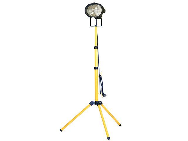 Faithfull Power Plus Sitelight Single With Tripod 500 Watt