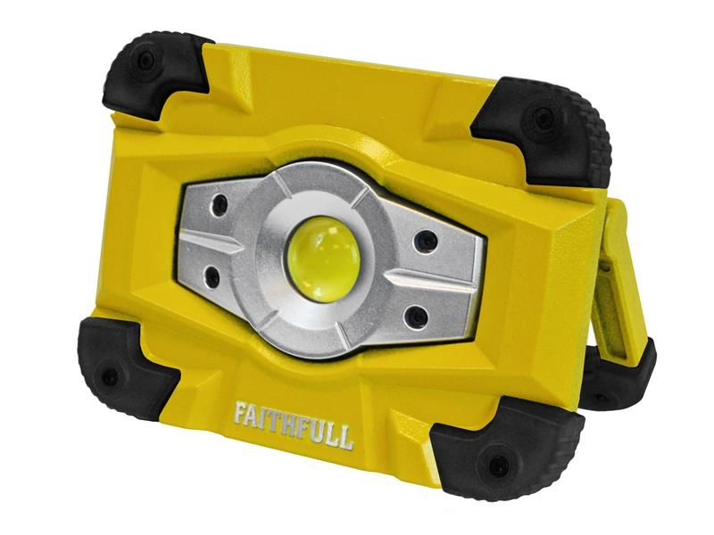 Faithfull Power Plus Faithfull Rechargeable Worklight with Magnetic Base 10W