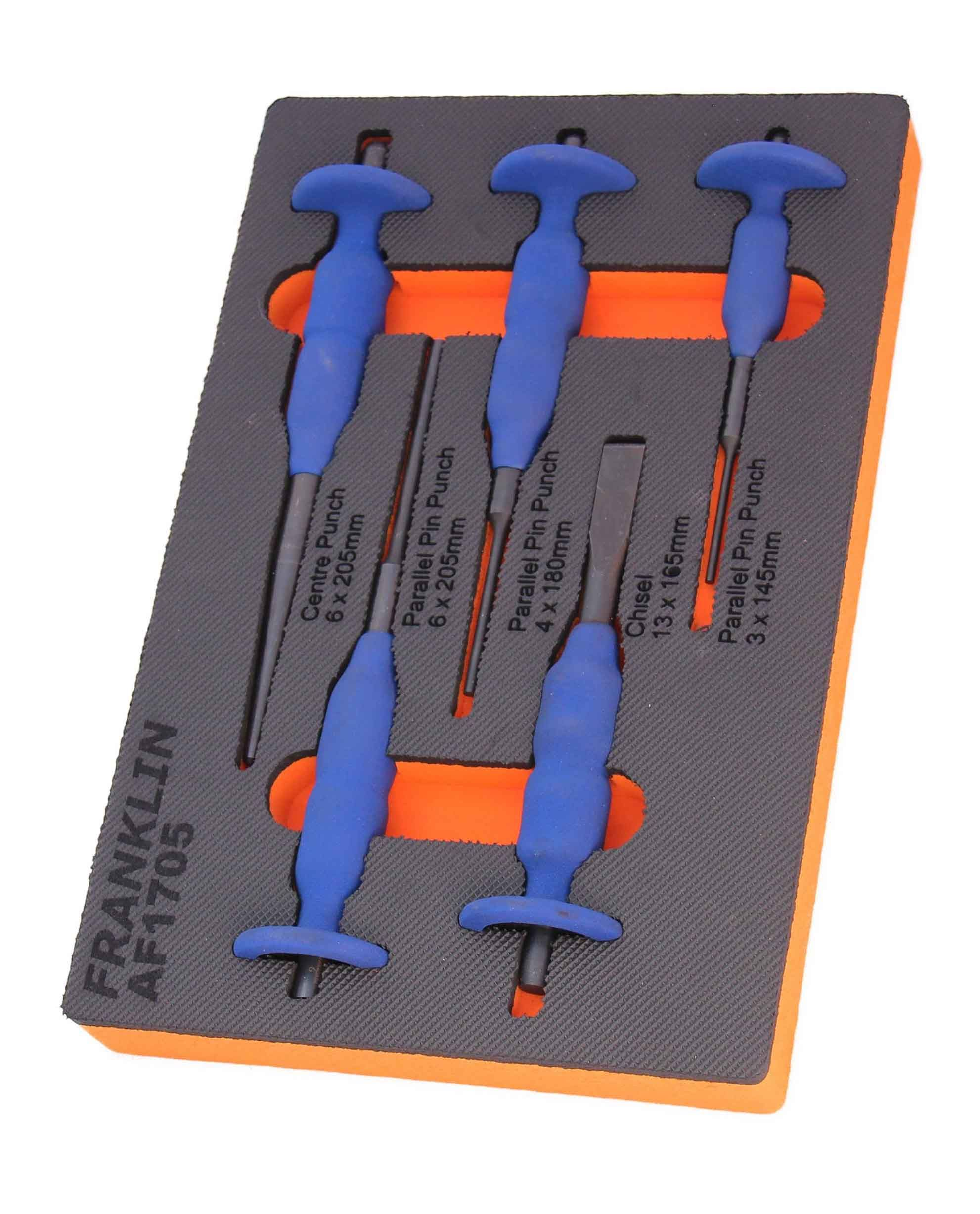 Franklin 5 Piece Chisel & Punch Set