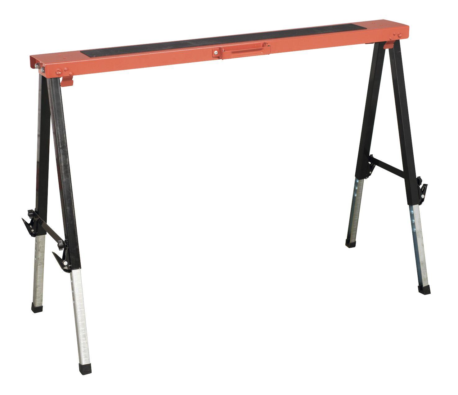 Sealey Fold Down Trestle Adjustable Legs 150kg Capacity