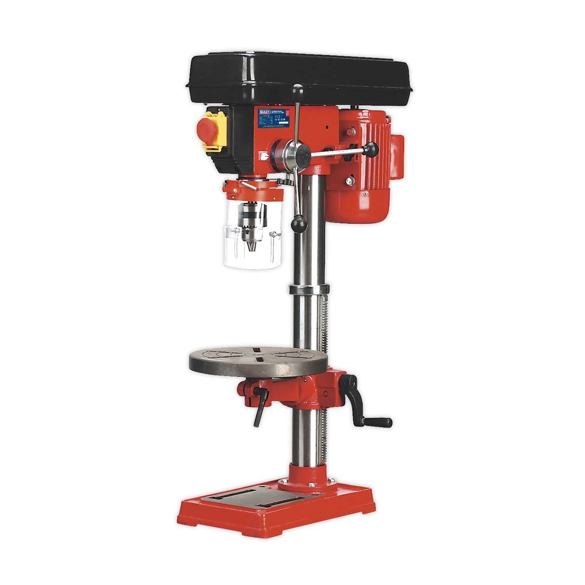 Sealey Pillar Drill Bench 12-Speed 840mm Height 370W/230V