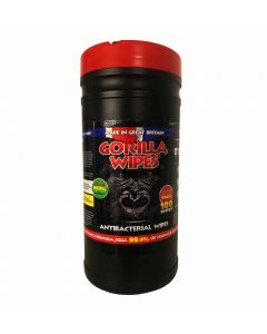 Gorilla Antibacterial Hand Wipes Tub 100
