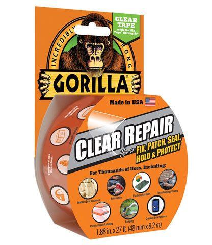 Gorilla Glue Clear Repair Tape 48mm x 8.2m