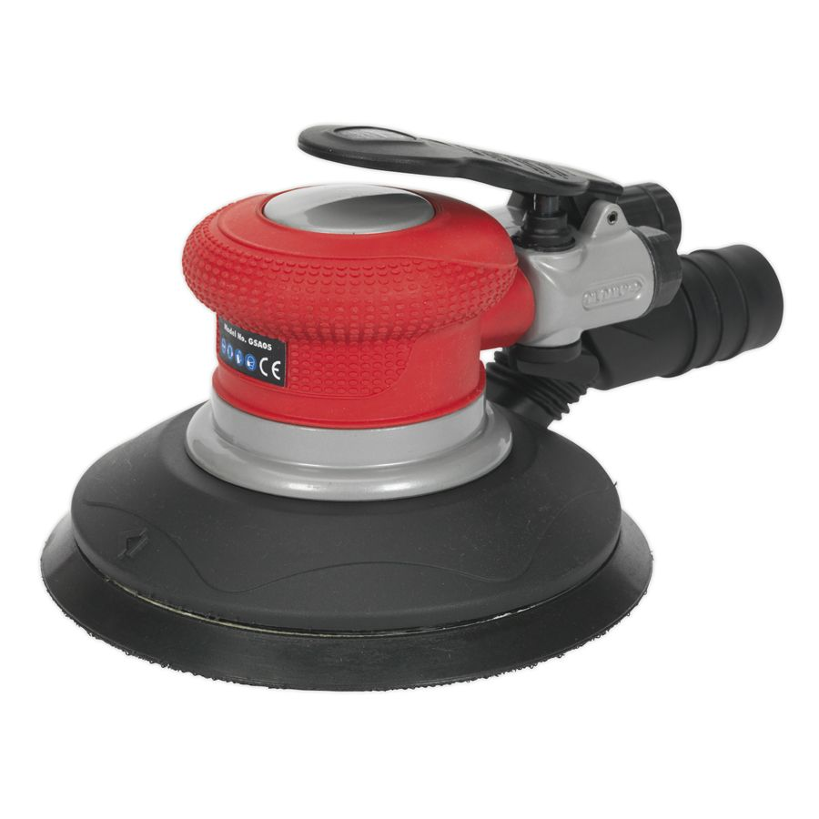 Sealey Air Palm Random Orbital Sander Ø150mm Dust-Free