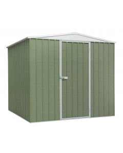 Sealey Galvanized Steel Shed Green 2.3 x 2.3 x 2m