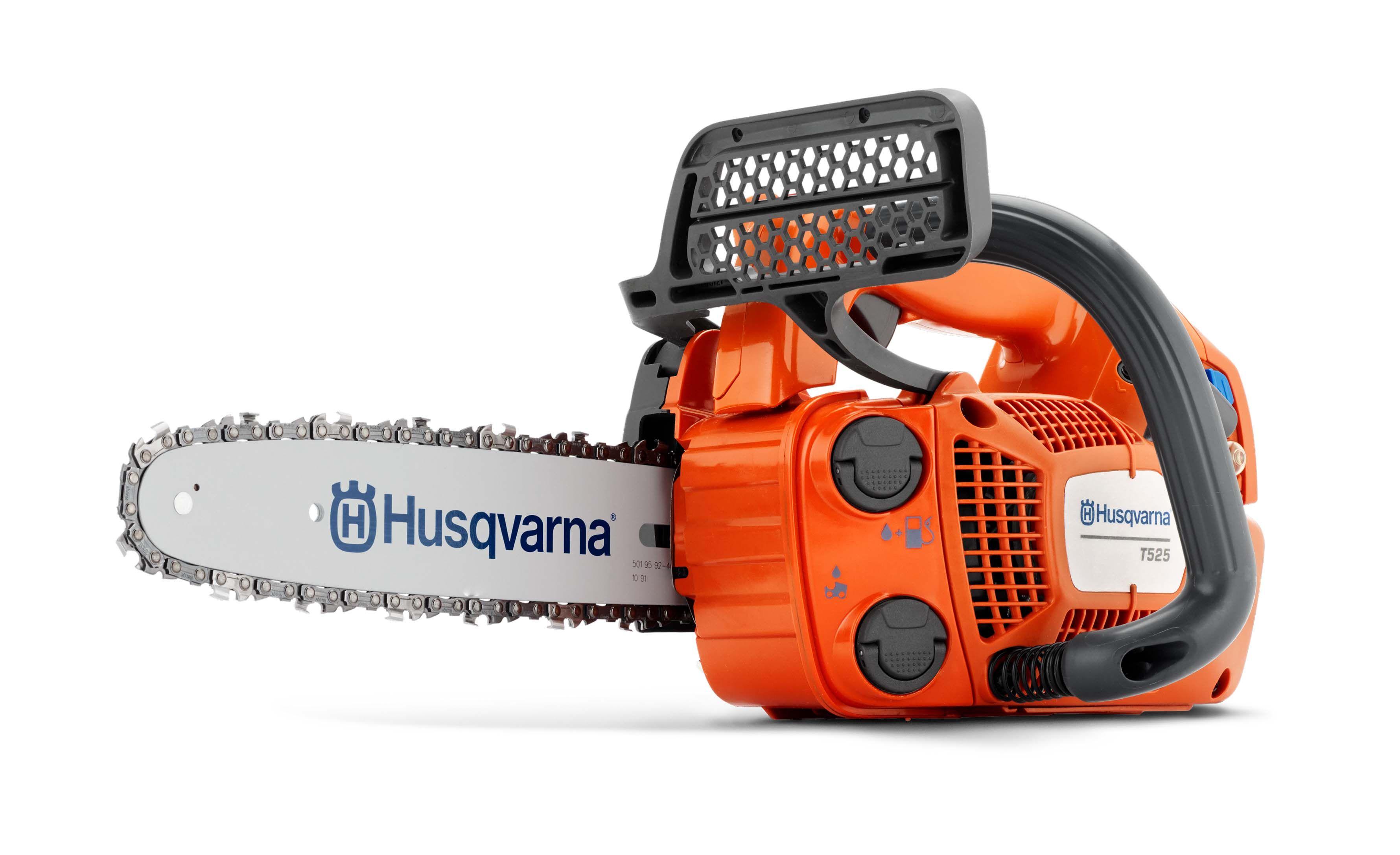 Husqvarna T525 27cc Top Handle Petrol Chain Saw 25cm