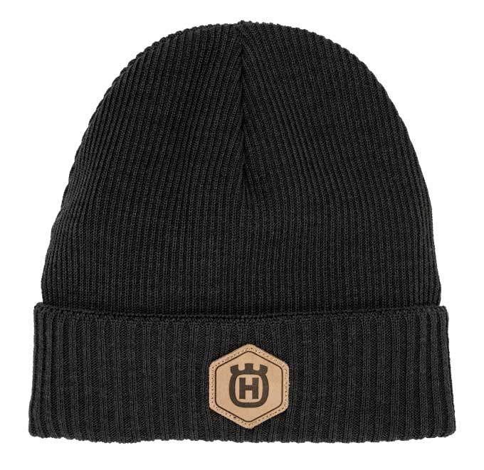 Husqvarna Xplorer Beanie Winter Wool Hat Grey