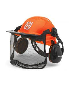 Husqvarna Forest Helmet Flourescent Orange - Functional