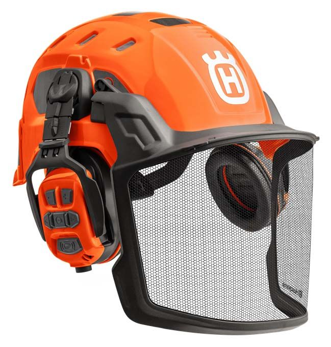 Husqvarna Forest Helmet With X-COM R - Technical