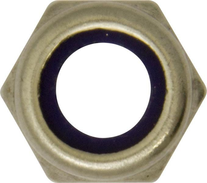 Nylon Lock Nuts A2 Stainless Steel Metric