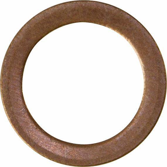 Pk 50 Sump Plug Washers Flat Copper 14x20x1.5mm