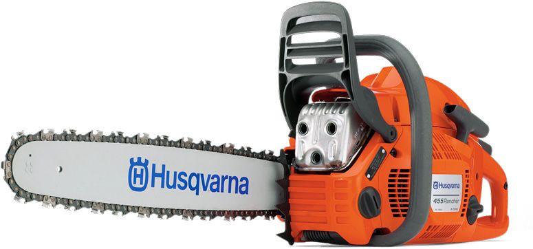 Husqvarna 455 Rancher 55.5cc Petrol Chain Saw 46cm
