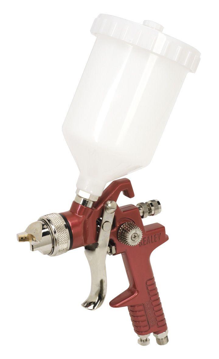 Sealey HVLP Gravity Feed Spray Gun 1.3mm Set-Up