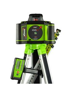 Imex i66R Rotating Laser Level With Red Beam - FULL KIT