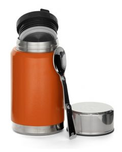 Husqvarna Xplorer Insulated Food Can With Spoon 0.6L