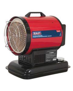Sealey IR20 70,000 Btu Infrared Paraffin / Kerosene / Diesel Heater 230v