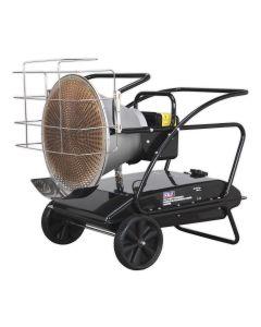 Sealey IR37 125,000 Btu Infrared Paraffin / Kerosene / Diesel Heater 230v