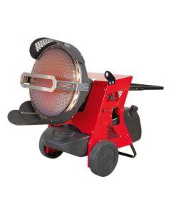 Sealey IR55 155,252 Btu Infrared Paraffin / Kerosene / Diesel Heater 230v
