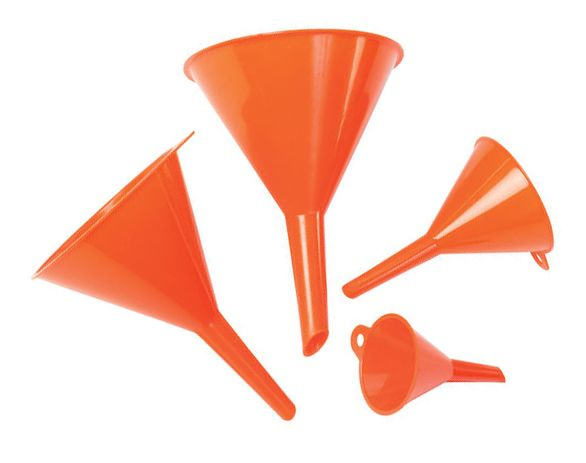 Lumeter Set Of 4 Orange Funnels