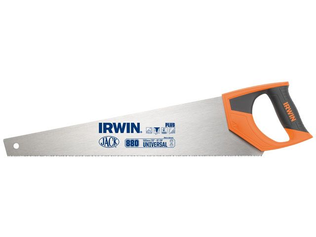 "Irwin Jack 880 UN Universal Panel Saw 500mm 20"" 8tpi"
