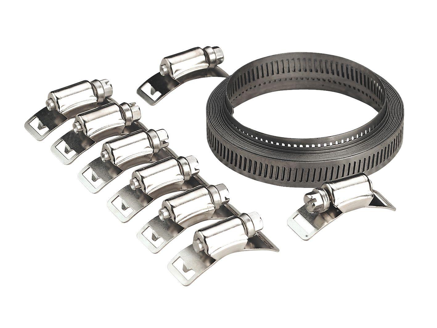 Sealey Hose Clip Set Self-Build 12.7mm Band Width