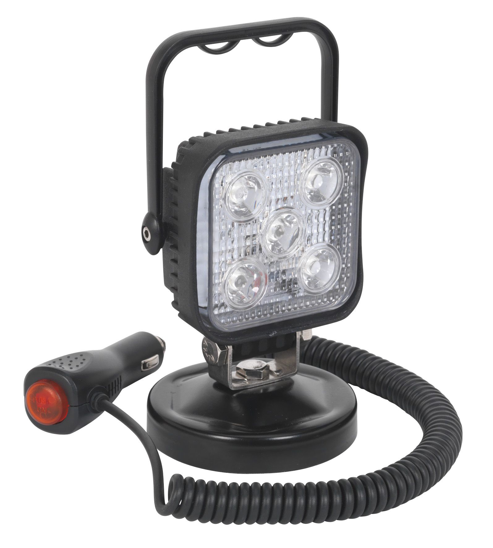 Sealey Portable Floodlight 15W LED 12V with Magnetic Base