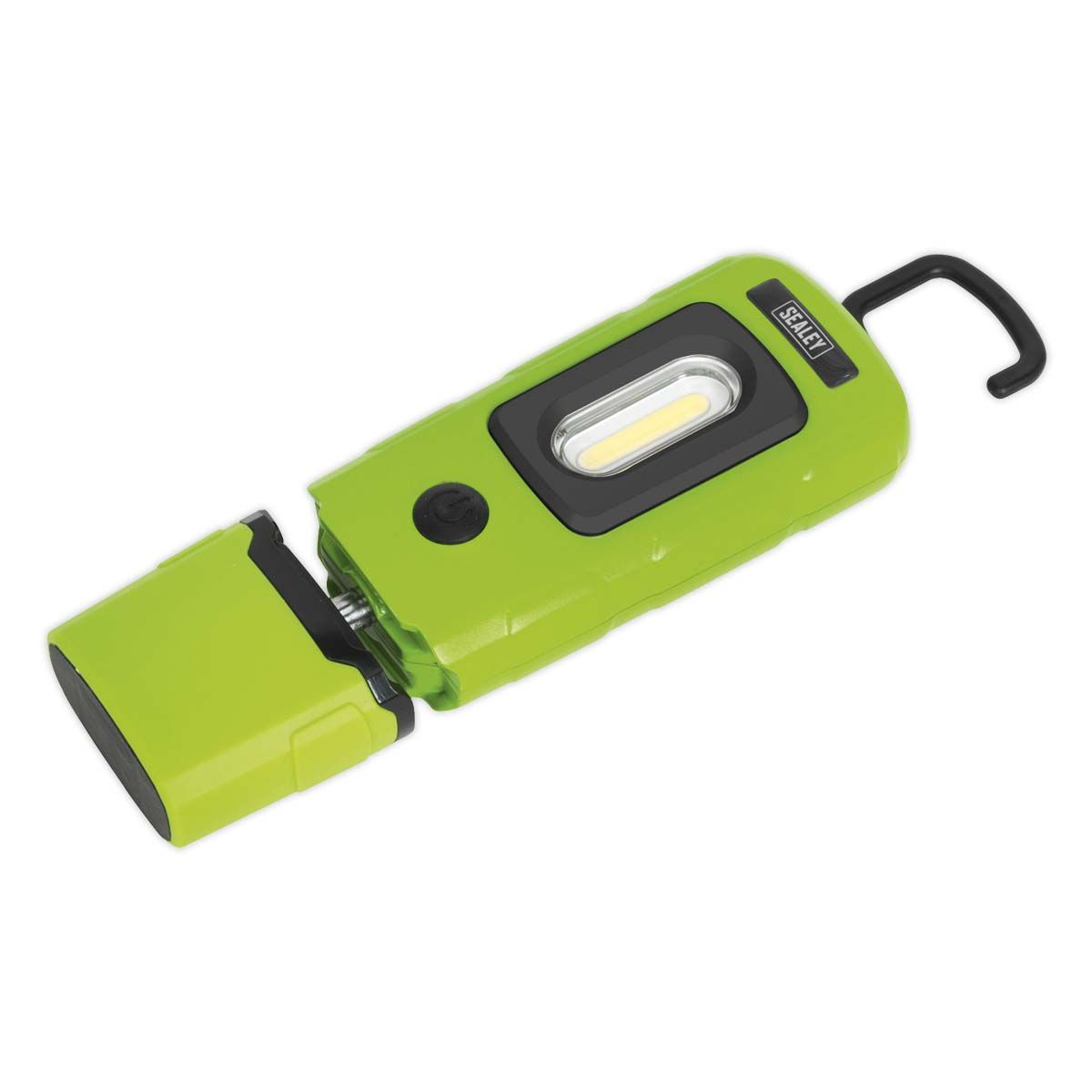 Sealey Rechargeable 360° Inspection Lamp 3W COB + 1W LED Green Lithium-Polym
