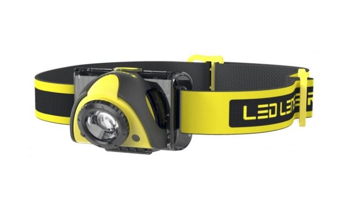 LedLenser iSEO3 Industrial Head Lamp Black/Yellow