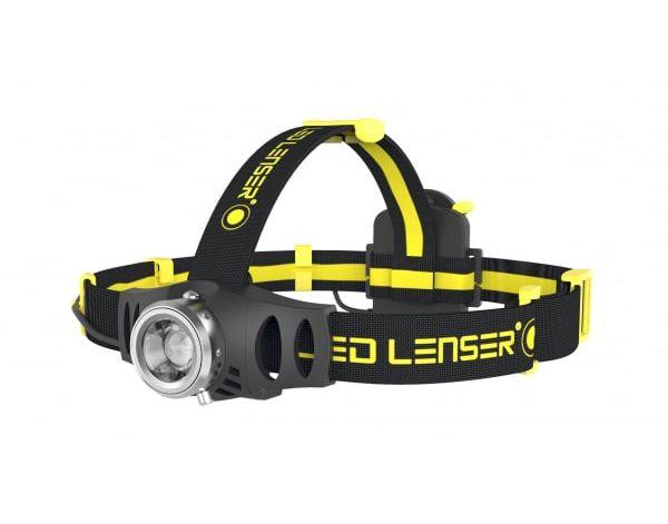 LedLenser iH6R Rechargeable Industrial Head Lamp Black/Yellow