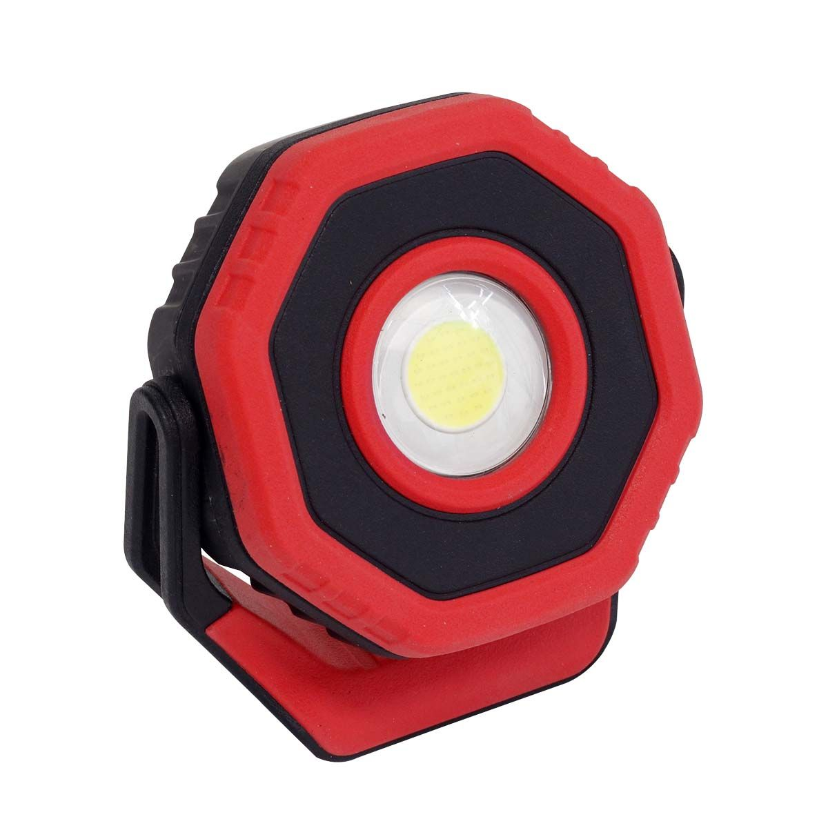 Sealey Rechargeable Pocket Floodlight with Magnet 360° 7W COB LED - Red