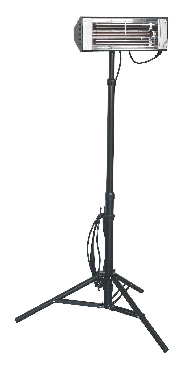 Sealey LP1500 1.5kW Infrared Heater With Telescopic Tripod Stand 230v