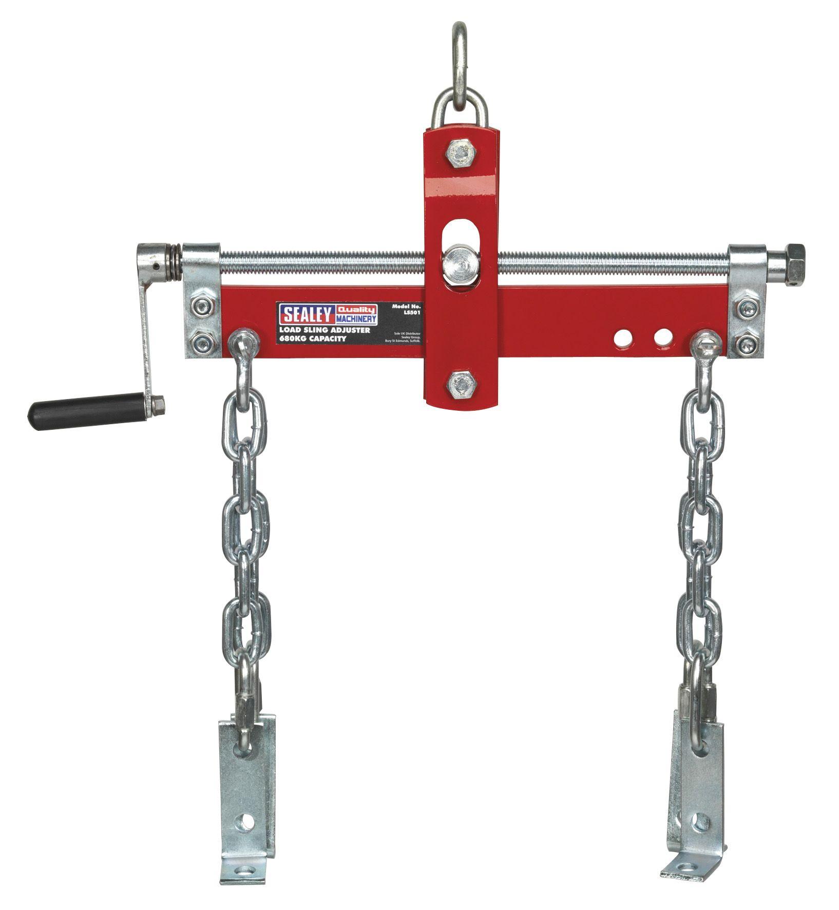 Sealey Load Sling Adjuster with Ball Bearings 680kg Capacity