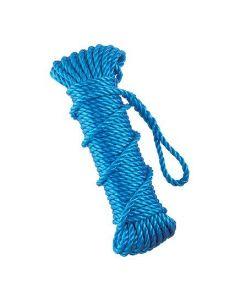 Tarpaflex Blue Polypropylene Rope 10mm x 27m Lorry Rope