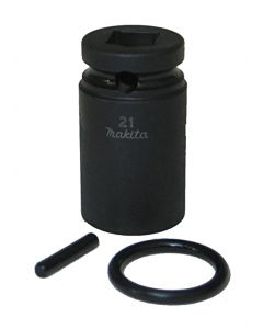 """Makita Impact Socket 21mm 1/2"""" Scaffolders Socket"""
