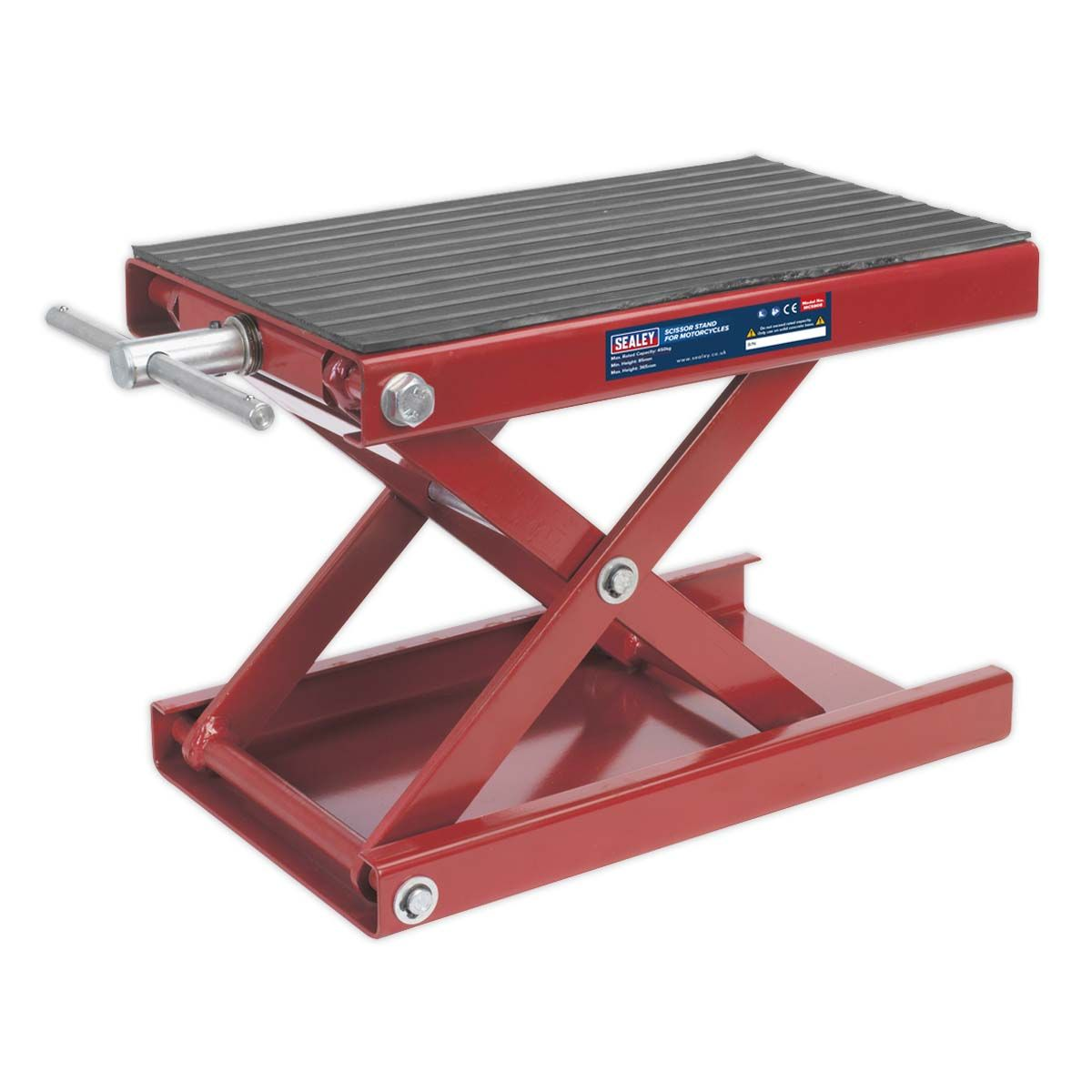 Sealey Scissor Stand for Motorcycles 450kg