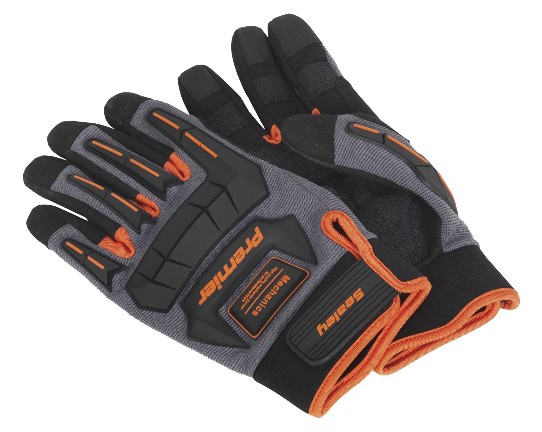 Sealey Mechanic's Gloves Anti-Collision