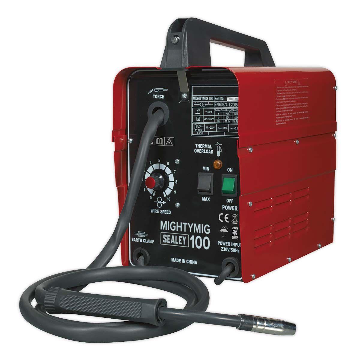 Sealey Mightymig No-Gas MIG Welder 100Amp 230V