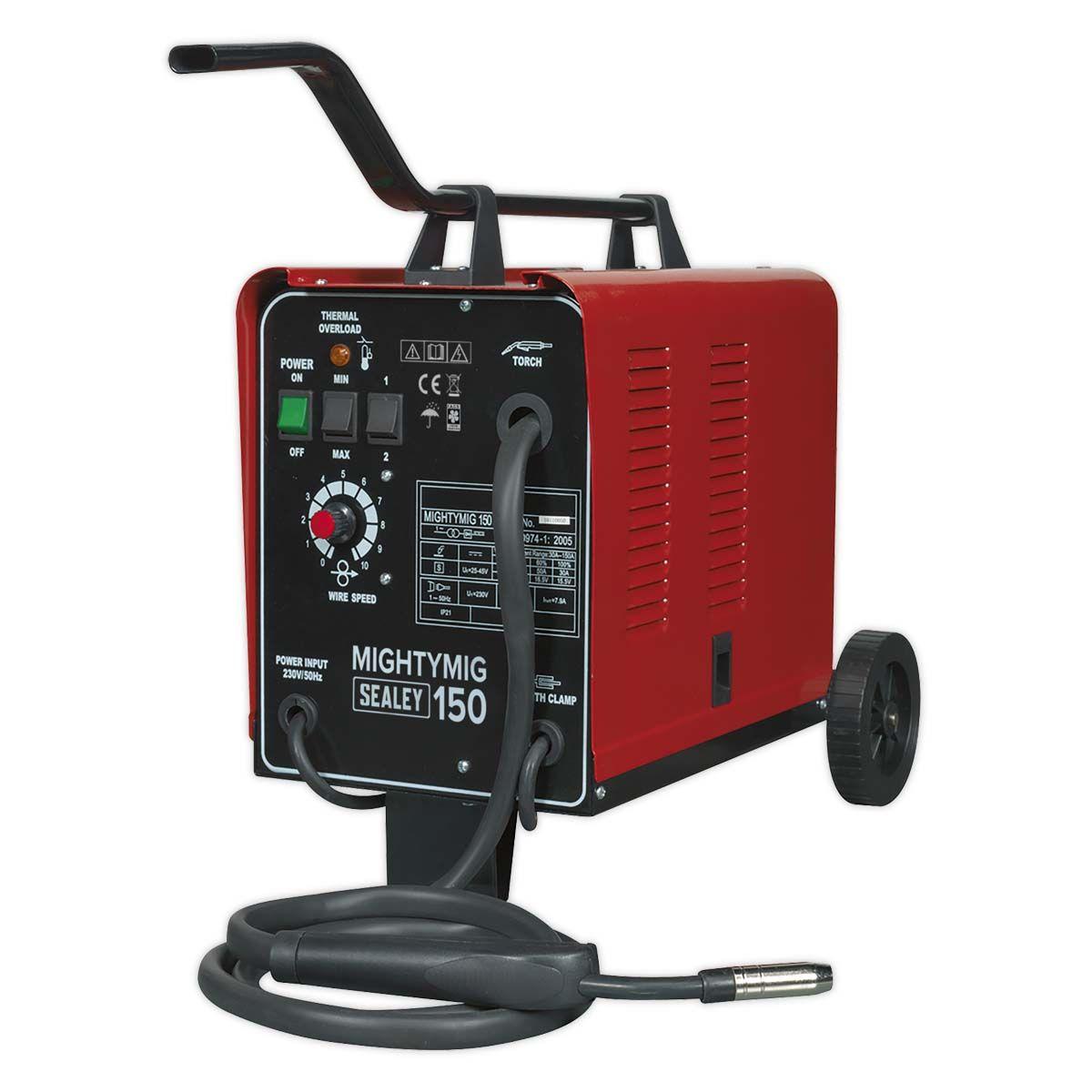 Sealey Mightymig Professional Gas/No-Gas MIG Welder 150Amp 230V